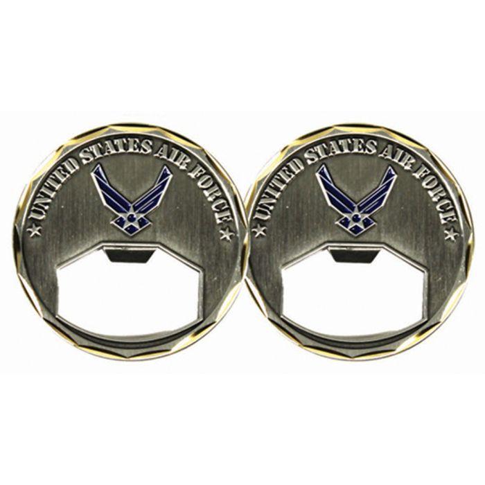 Air Force Bottle Opener U.S USAF Challenge Coin 3139