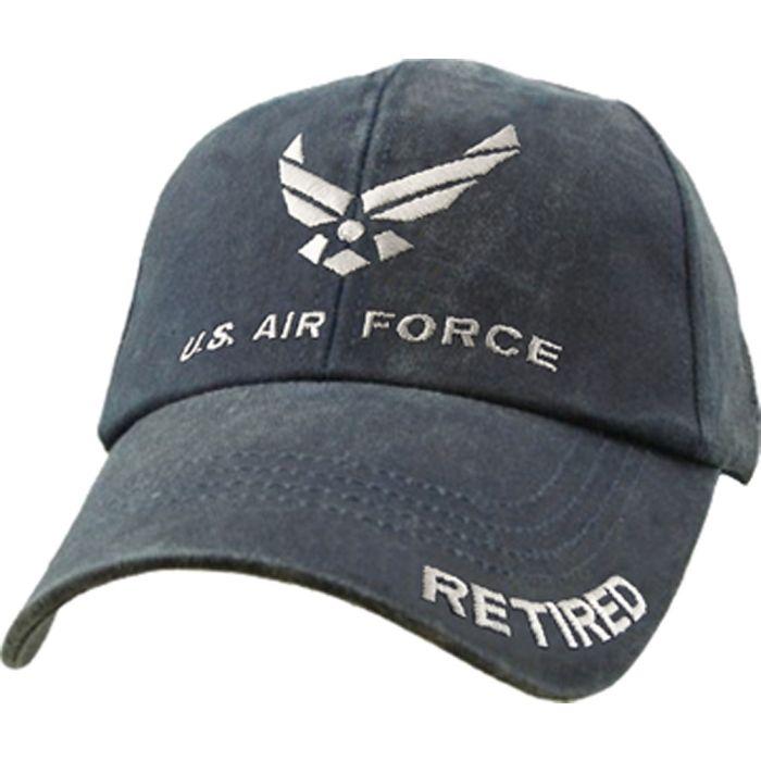 U.S USAF Insignia Baseball Cap Air Force Retired Hat