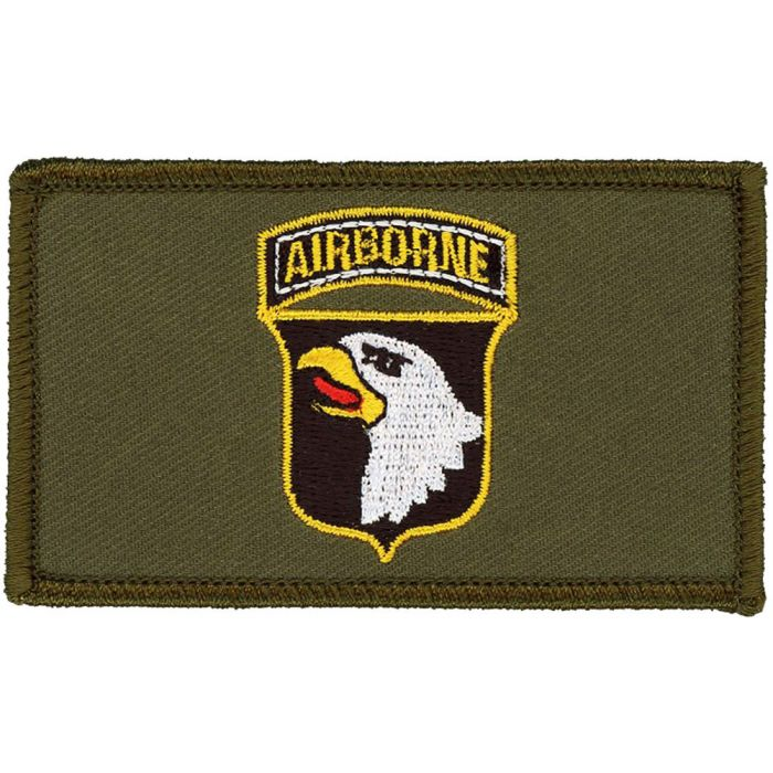 """2/"""" x 3/"""" Hook /& Loop 2 Piece OD Patch Air Force Special Operations"""