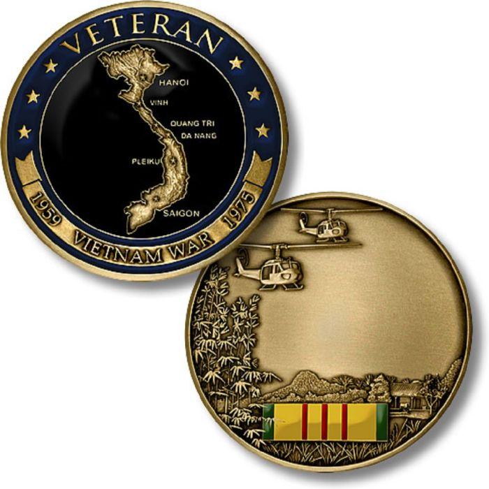 Vietnam Veteran Challenge Coin