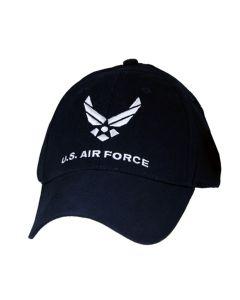 USAF Insignia Dark Navy Baseball Cap Air Force Hat U.S