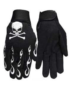 Choppers Iron Crosses Large Mechanic/'s Gloves